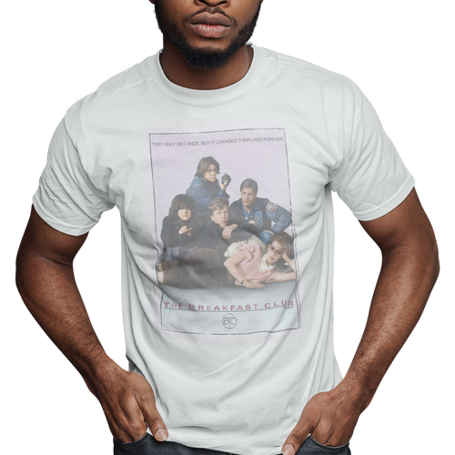 Breakfast Club Bc Poster Slim Fit Movie T-Shirt
