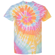 Load image into Gallery viewer, OmniT-Shirt Sunshine Daydream Tie Dye Liquid Cyclone Hand-Dyed T-Shirt
