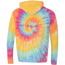 Load image into Gallery viewer, OmniTee Sunshine Daydream Tie Dye Liquid Cyclone Hand Dyed Hoodie Back