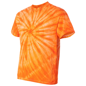 OmniTee Tangerine Dream Tie Dye Liquid Whirlwind Hand Dyed T-Shirt Side