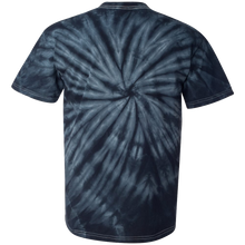 Load image into Gallery viewer, GTS Black Tie Dye Liquid Whirlwind Hand Dyed T-Shirt Back