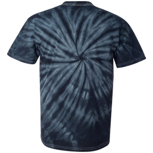 GTS Black Tie Dye Liquid Whirlwind Hand Dyed T-Shirt Back