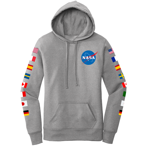 NASA Group 16 Women's Hoodie Grey - Front