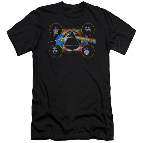 Pink Floyd The Dark Side Of The Moon     Premium Canvas  Band T-Shirt