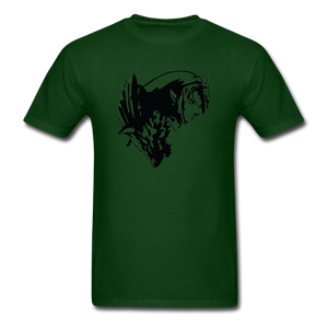 new shirt zelda 321 - forest green