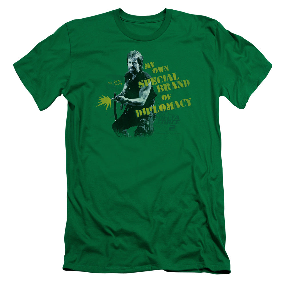 Delta Force 2 Special Diplomacy Slim Fit Movie T-Shirt