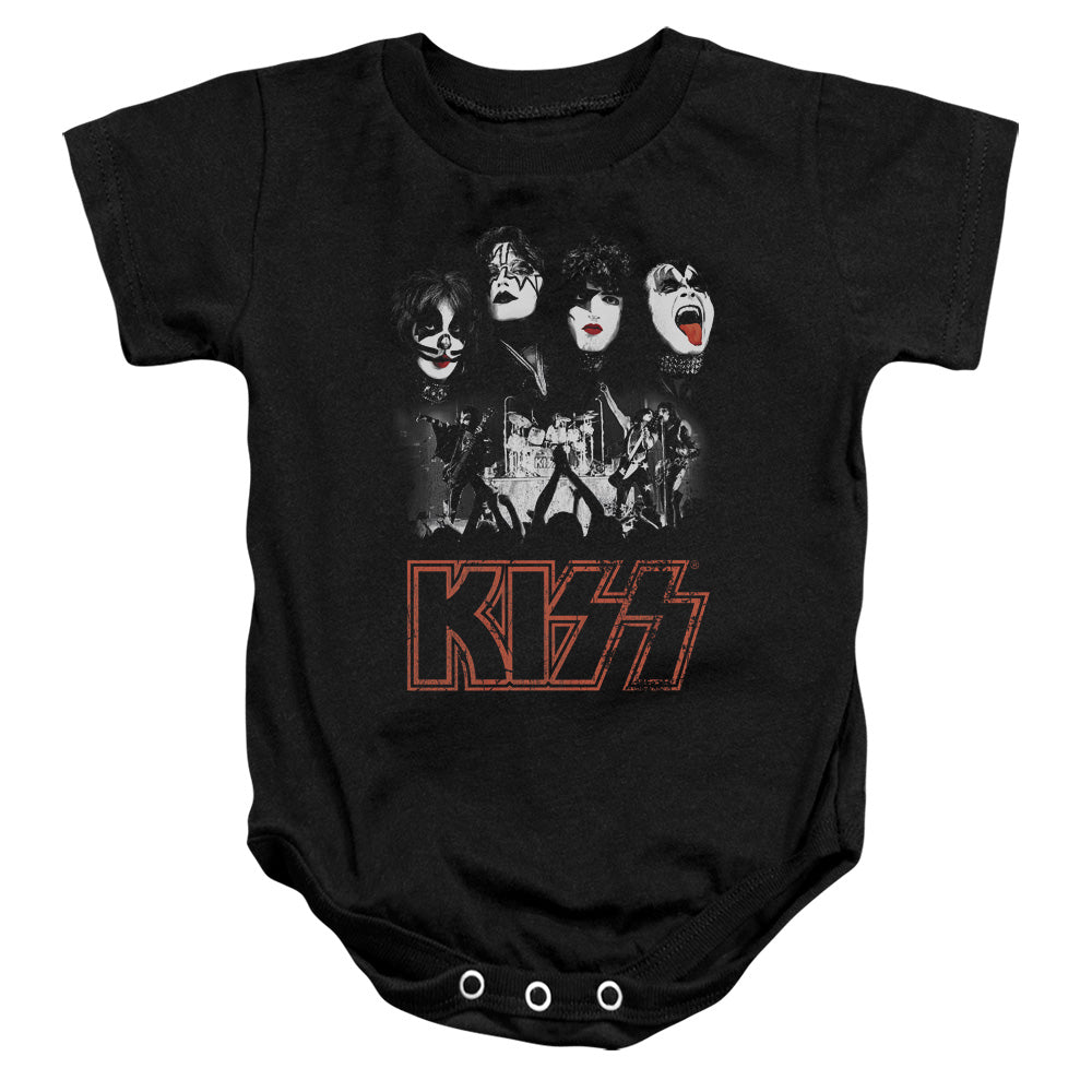 Kiss Rock The Infant Band Snapsuit
