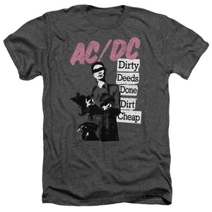 AC/DC Dirty Deeds Heather Band T-Shirt