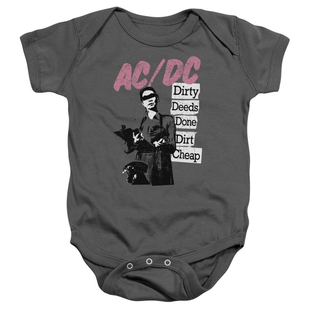 AC/DC Dirty Deeds Infant Band Snapsuit