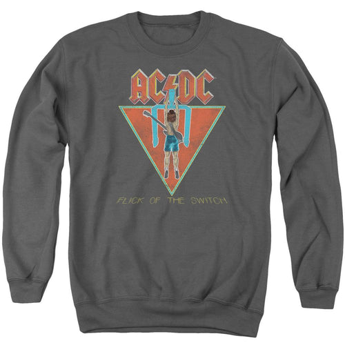 AC/DC Flick Of The Switch Crewneck Band Sweatshirt