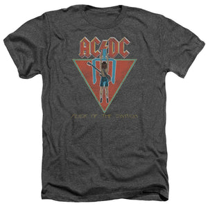 AC/DC Flick Of The Switch Heather Band T-Shirt