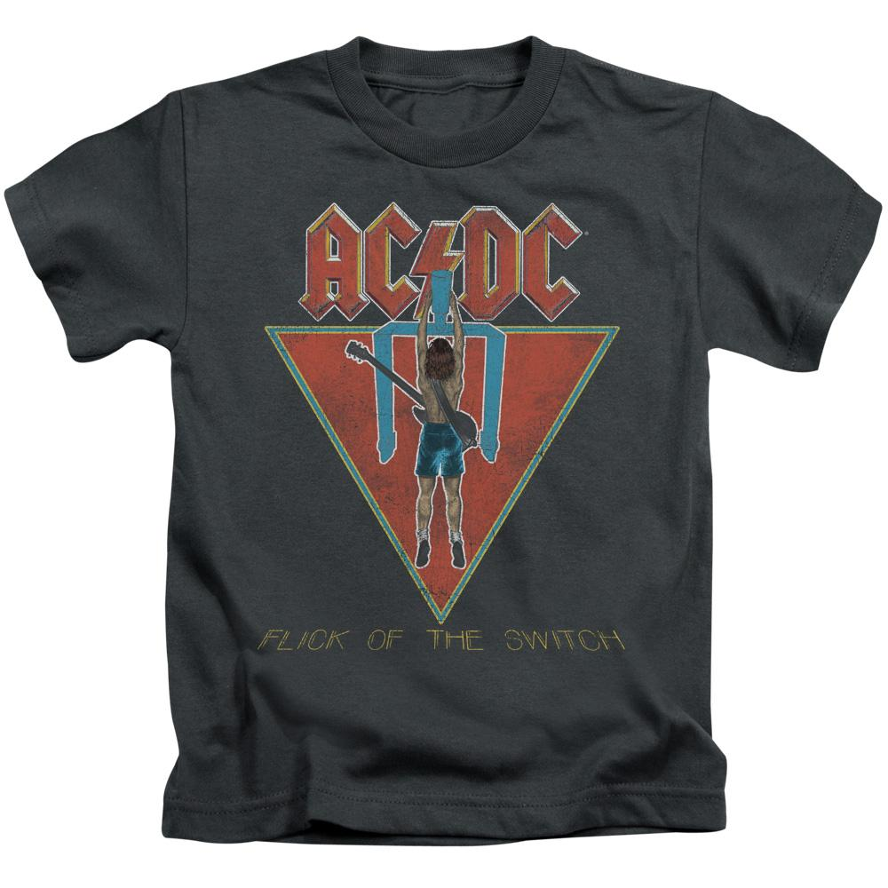 AC/DC Flick Of The Switch Kid's  Band T-Shirt