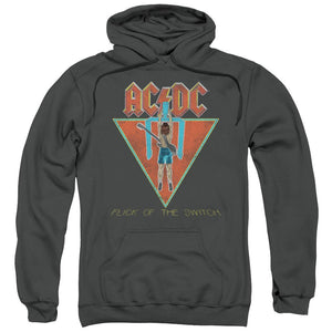 AC/DC Flick Of The Switch Pullover Hoodie Band Sweatshirt