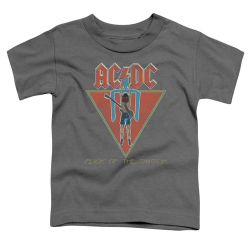 AC/DC Flick Of The Switch Toddler Band T-Shirt
