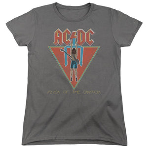 AC/DC Flick Of The Switch Women's  Band T-Shirt