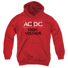 Load image into Gallery viewer, AC/DC High Voltage Stencil Teen Pullover Hoodie Band Sweatshirt