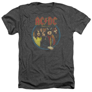 AC/DC Highway To Hell Heather  Band T-Shirt
