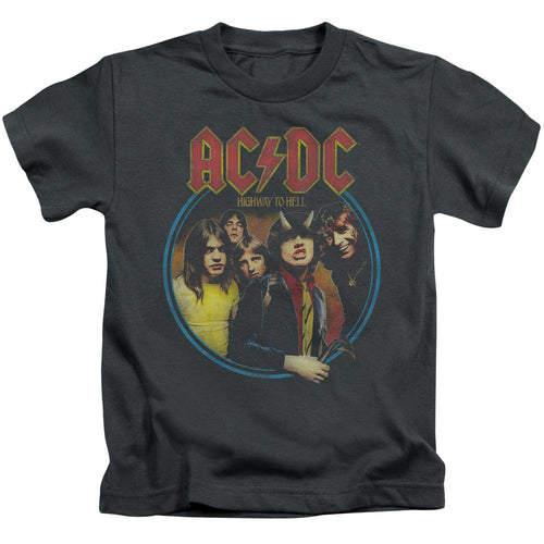 AC/DC Highway To Hell Kids'  Band T-Shirt