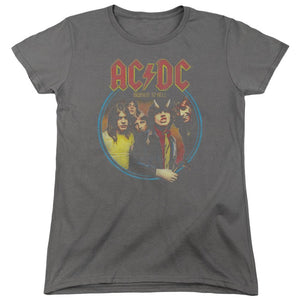 AC/DC Highway To Hell Women's  Band T-Shirt