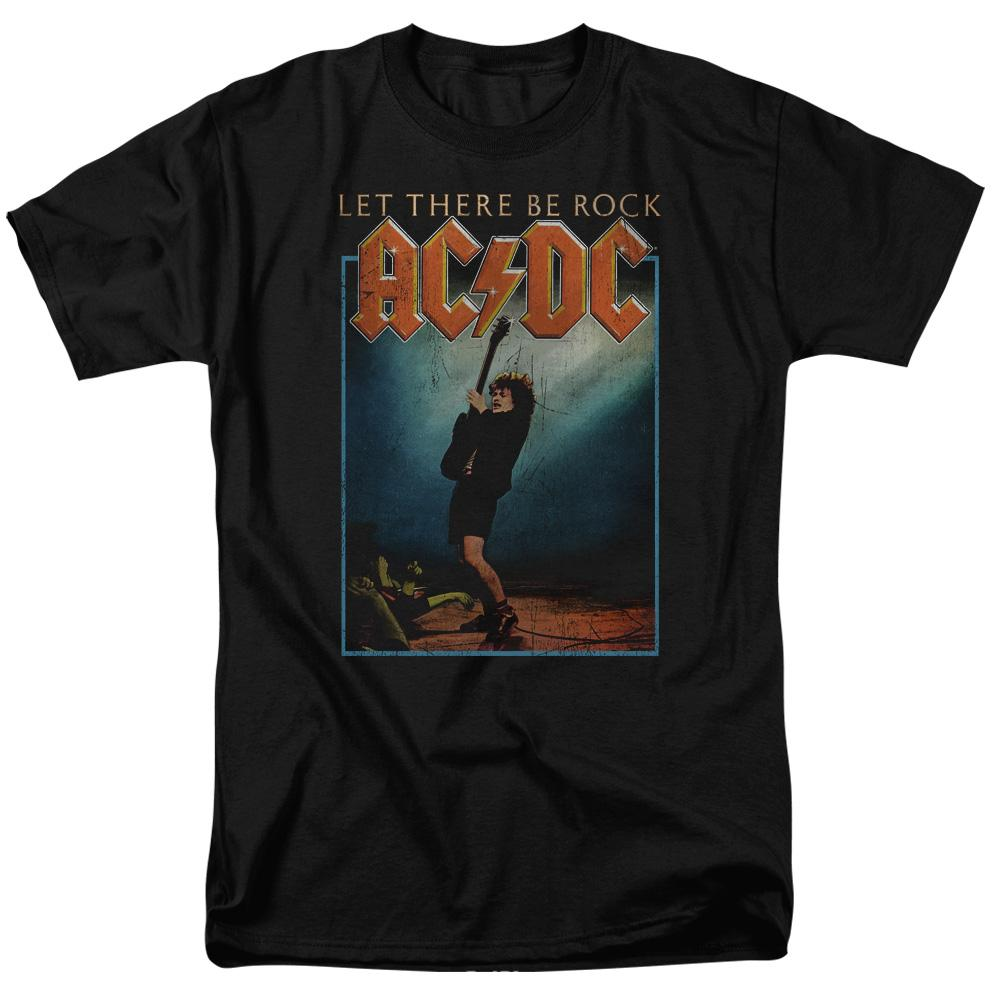 AC/DC Let There Be Rock  Band T-Shirt