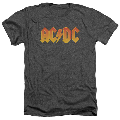 AC/DC Logo Heather Band T-Shirt