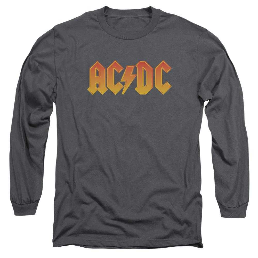AC/DC Logo Long Sleeve  Band T-Shirt