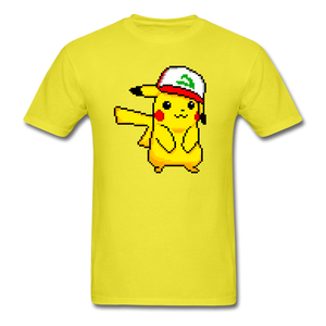 new shirt poke - yellow