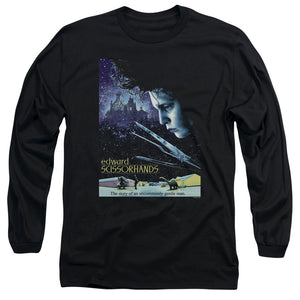 Edward Scissorhands Poster Long Sleeve Movie T-Shirt