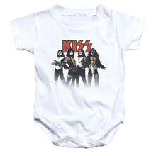 Load image into Gallery viewer, Kiss Throwback Pose Infant Band Snapsuit
