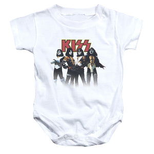 Kiss Throwback Pose Infant Band Snapsuit