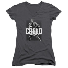 Load image into Gallery viewer, Creed Final Round Junior Girls V Neck Movie T-Shirt