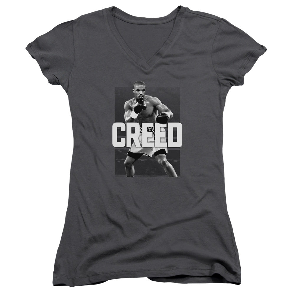 Creed Final Round Junior Girls V Neck Movie T-Shirt