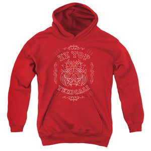 Zz Top Texicali Demon Teen Pullover Hoodie Band Sweatshirt