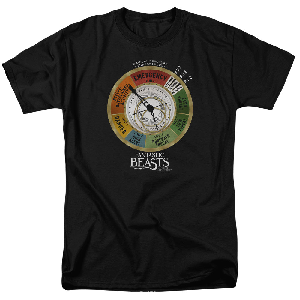 Fantastic Beasts Threat Gauge Short Sleeve Adult 18/1