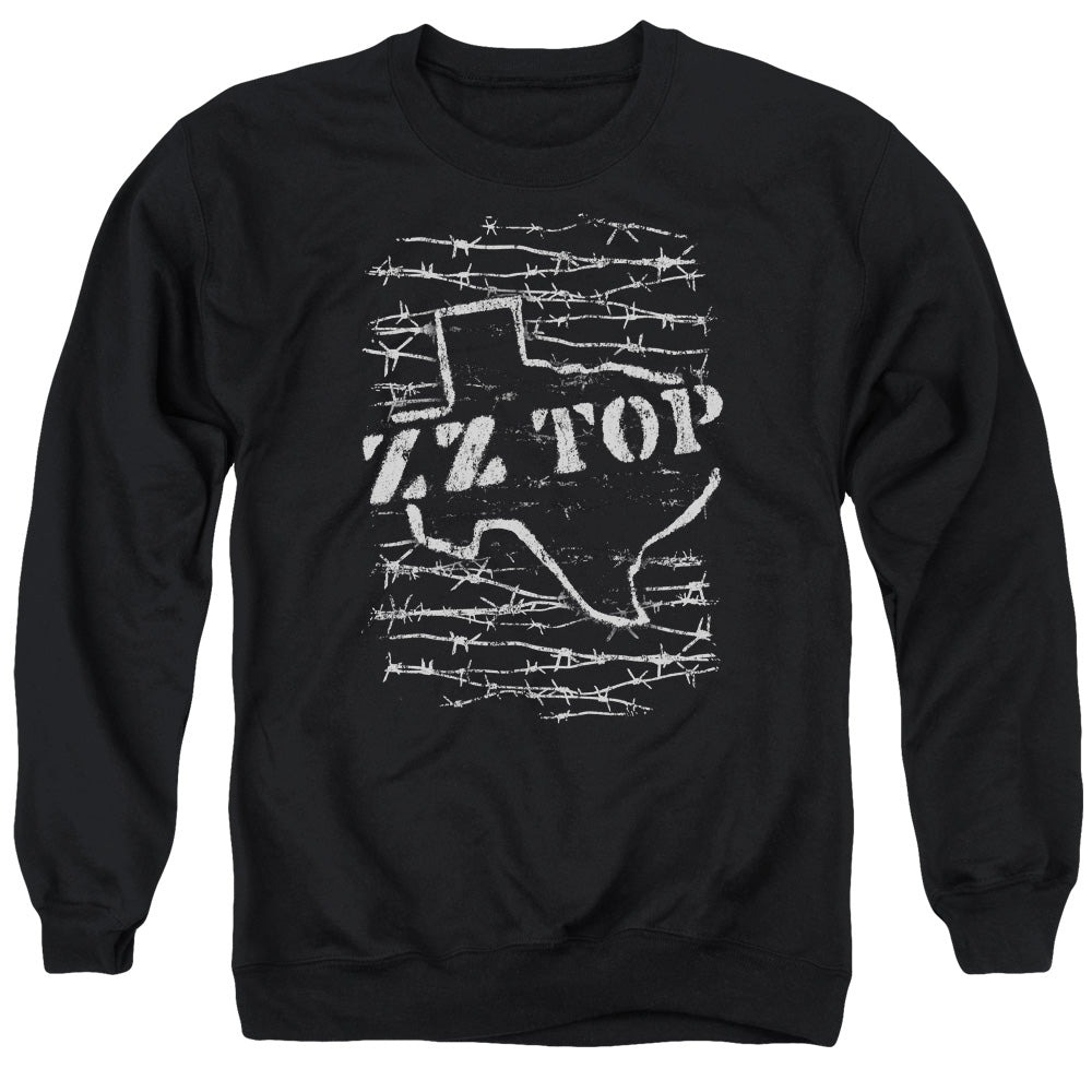Zz Top Barbed Crewneck Band Sweatshirt