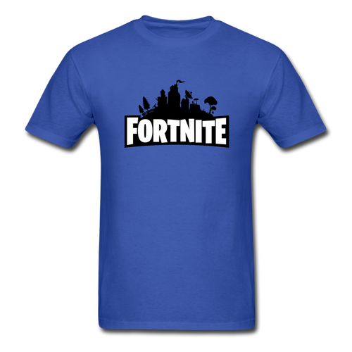 new shirt fort 6 - royal blue