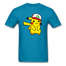 Load image into Gallery viewer, new shirt poke - turquoise