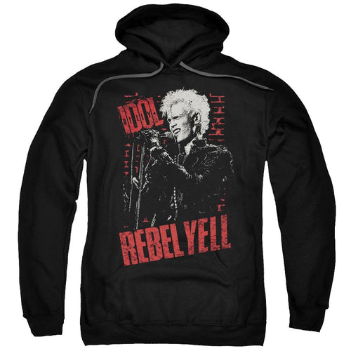 Billy Idol Brick Wall Pullover Hoodie Band Sweatshirt