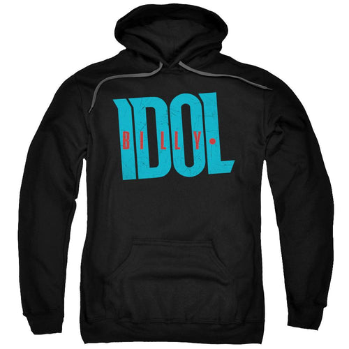Billy Idol Logo Adult Pullover Hoodie Band Sweatshirt
