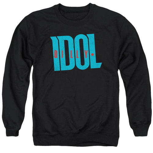 Billy Idol Logo Crewneck Band Sweatshirt