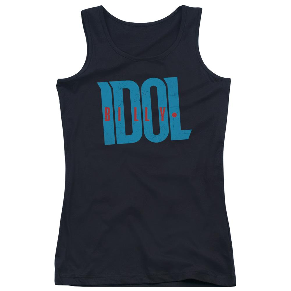 Billy Idol Logo Juniors Band Tank