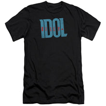 Load image into Gallery viewer, Billy Idol Logo Premium Canvas Jersey    Band T-Shirt