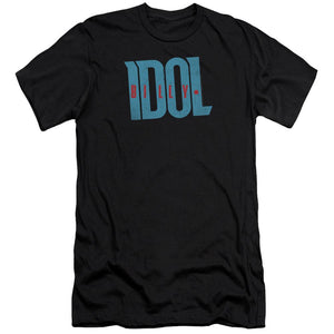 Billy Idol Logo Premium Canvas Jersey    Band T-Shirt
