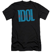 Load image into Gallery viewer, Billy Idol Logo Slim Fit Band T-Shirt
