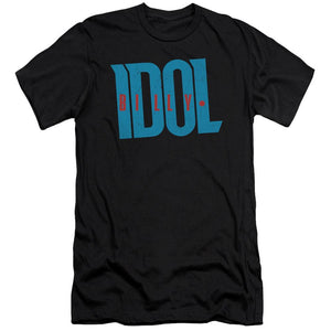 Billy Idol Logo Slim Fit Band T-Shirt