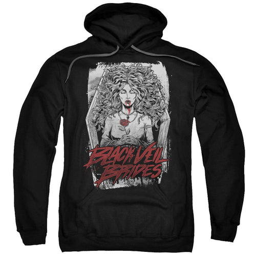 Black Veil Brides Coffin Queen Pullover Hoodie Band Sweatshirt