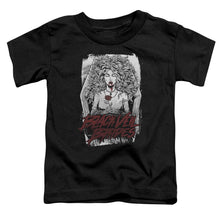 Load image into Gallery viewer, Black Veil Brides Coffin Queen Toddler Band T-Shirt