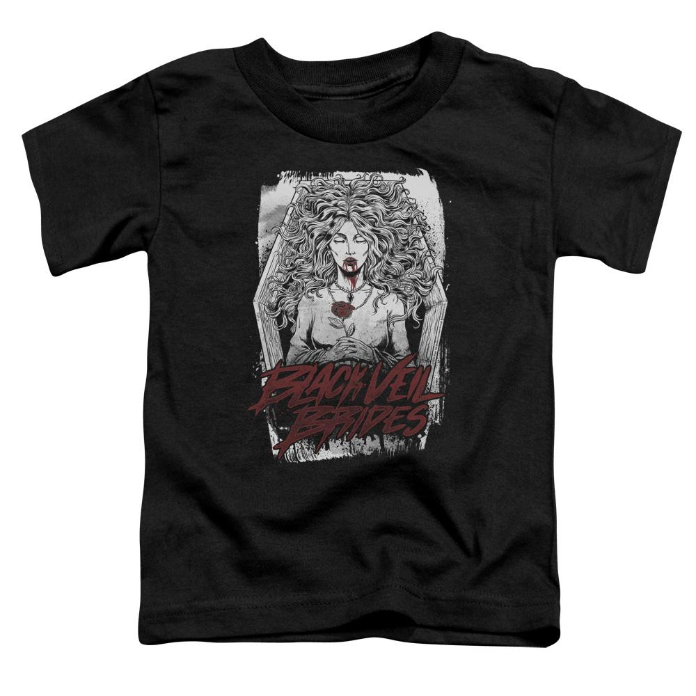 Black Veil Brides Coffin Queen Toddler Band T-Shirt
