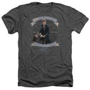 Fantastic Beasts Newt Scamander Heather Movie T-Shirt