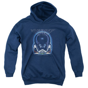 Journey Frontiers Cover Teen Pullover Hoodie Band Sweatshirt
